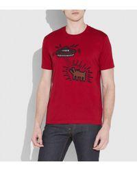 COACH - X Keith Haring Tee - Lyst