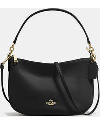 COACH - Chelsea Crossbody In Polished Pebble Leather - Lyst