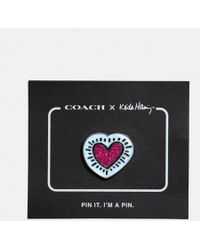 COACH | X Keith Haring Pin | Lyst