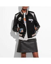 COACH   Space Varsity Jacket   Lyst