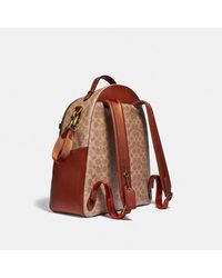COACH Baby Backpack In Signature Canvas - Brown