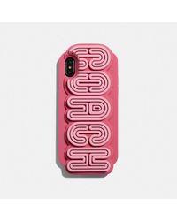 COACH Funda para Iphone X/xs - Rosa
