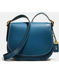 COACH - Saddle Bag 23 In Glovetanned Leather - Lyst