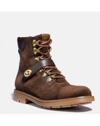 474bd99a58c9a Lyst - Men s COACH Boots Online Sale