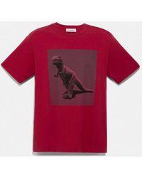 COACH Rexy By Sui Jianguo T-shirt - Red