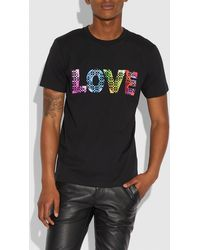 COACH - Love By Jason Naylor T-shirt - Lyst