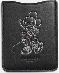 COACH - Minnie Mouse Pose Phone Pocket Sticker - Lyst
