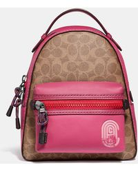 COACH - Campus Backpack 23 In Signature Canvas With Patch - Lyst