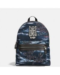 COACH - X Keith Haring Academy Backpack - Lyst