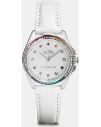 COACH - Tristen Rainbow Stainless Steel Strap Watch - Lyst