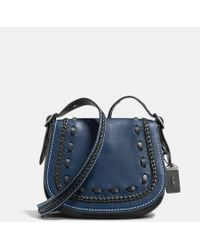 COACH - Saddle 23 With Western Whiplash Detail - Lyst