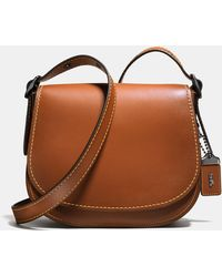 COACH - Saddle 23 In Glovetanned Leather - Lyst