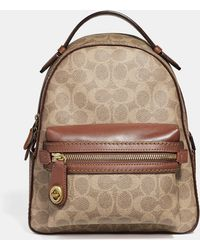 COACH - Campus Backpack 23 In Signature Canvas - Lyst