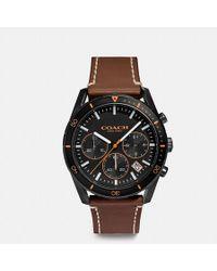 COACH Thompson Sport Watch, 41mm - Multicolor