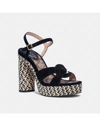 COACH Talina Sandal - Black