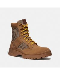 COACH Utility Boot - Brown