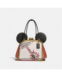 COACH - Borsa Kisslock Disney Topolino x Keith Haring - Lyst
