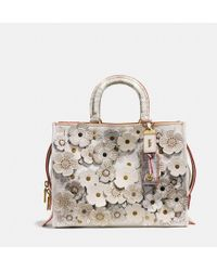 COACH Rogue With Snakeskin Tea Rose - Multicolour