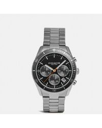 COACH Thompson Sport Watch, 41mm - Metallic