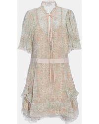 COACH - Tiered Dress - Lyst