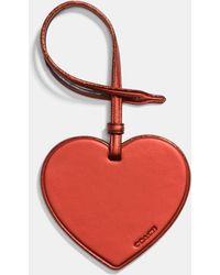 COACH - Complimentary Heart Charm - Lyst