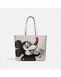 COACH - Borsa larga Highline Disney Topolino x Keith Haring - Lyst