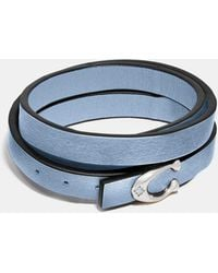 COACH - Signature Bracelet - Lyst