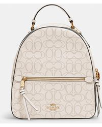 COACH Jordyn Backpack In Signature Leather - Multicolor