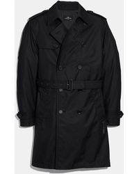 COACH Trench Coat - Black