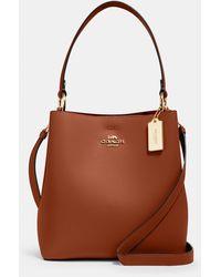 COACH Town Bucket Bag - Brown