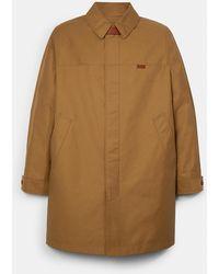 COACH Seasonal Mac Coat - Natural