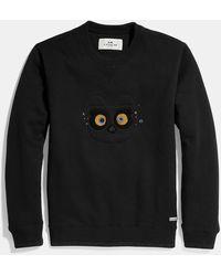 COACH Bear Sweatshirt - Black