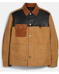 COACH Workwear Chore Coat - Multicolor
