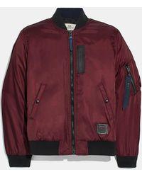 COACH Ma-1 Jacket - Red