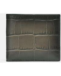 COACH Double Billfold Wallet - Gray