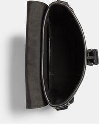 COACH Track Small Flap Crossbody Bag In Signature Canvas - Multicolor