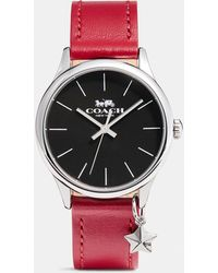 COACH Ruby Watch, 32mm - Red