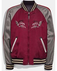 COACH Western Souvenir Jacket - Red