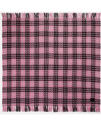 COACH Plaid Print Blanket Scarf - Multicolor