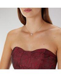 Coast - Mai Cubic Zirconia Necklace - Lyst