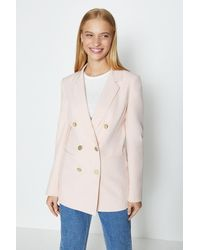 Coast Db Military Blazer - Pink