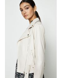 Coast Pu Jacket - Brown