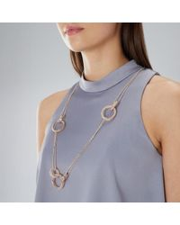 Coast - Willow Sparkle Necklace - Lyst