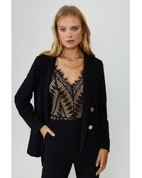 Coast Tailored Girlfriend Blazer - Black