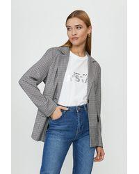 Coast Tailored Check Blazer - Grey