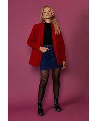 Coast Formal Blazer Coat - Red