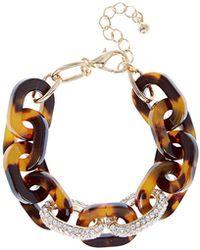 Coast - Nicki Tortoise Shell Bracelet - Lyst