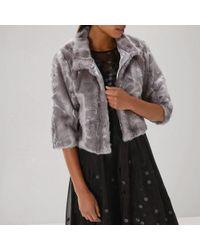 Coast - Larini Faux Fur Jacket - Lyst