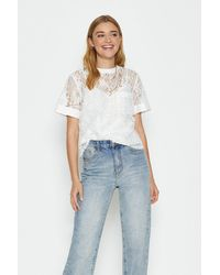 Coast Lace T-shirt - White