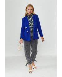Coast Tailored Girlfriend Blazer - Blue
